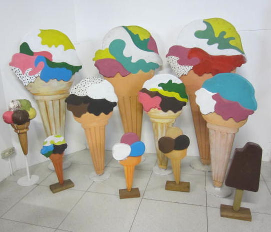 Immagine di sagome gelati