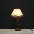 Picture of Liberty Table Lamp with sculpture of a woman