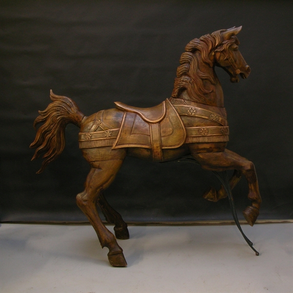 Picture of Wooden Carousel Horse