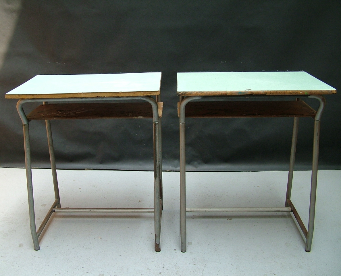 Picture of Two school desks