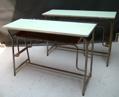 Immagine di banco da scuola doppio chiaro