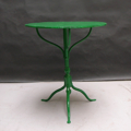 Picture of iron bistrot table