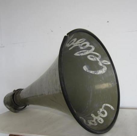 Immagine di altoparlante Geloso (tromba esponenziale)