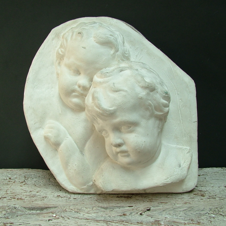 Picture of Plaster cast high-relif of putti