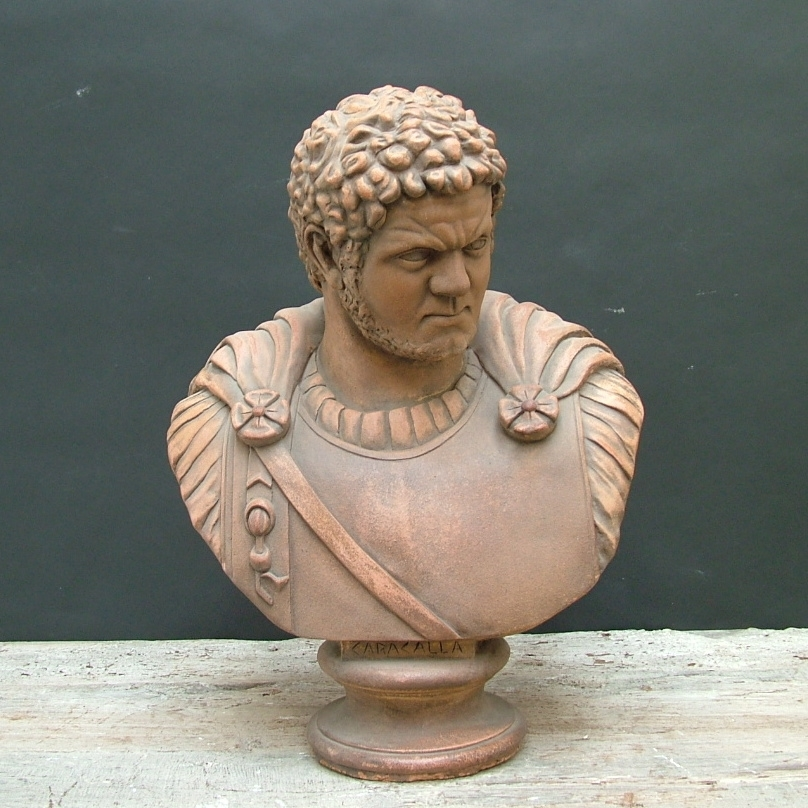 Picture of Terracotta bust Caracalla