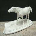 Picture of Little plaster cast sculpture of horse