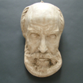 Picture of Death mask in plaster cast n° 4
