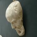 Immagine di Maschera mortuaria in gesso da appendere n° 4