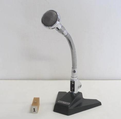 Immagine di microfoni da tavolo dal n° 1 al n° 6