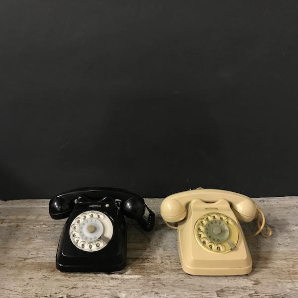 Picture of Black and white Bigrigio telephones Face Standard F63