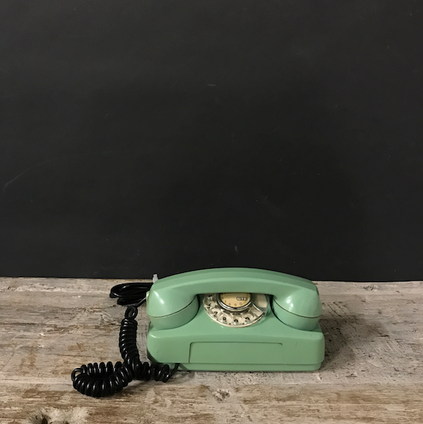 Picture of GTE Starlite mint green telephones