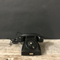 Picture of Fatme Bakelite black telephone from 30s / 40s