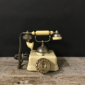 Picture of Roaring 20s telephone in iron and bakelite