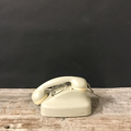 Picture of Siemens sage green  telephone from 1950