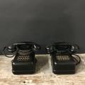 Picture of Black bakelite telephone exchange from 30s
