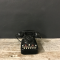 Picture of Black bakelite Face standard telephone exchange from 50s