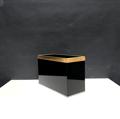 Picture of Gabriella Crespi's black acrilyc planter