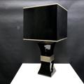 Picture of Gabriella Crespi's black ceramic lamp
