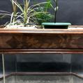 Immagine di Fioriera a due vasche Biedermeier varie essenze di legni intarsiato