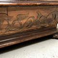 Picture of Two tanks Biedermeier planter made in various inlaid woods