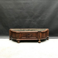 Picture of Liberty carved wood planter