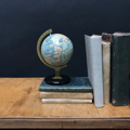 Picture of Small globe n° 11 with black base