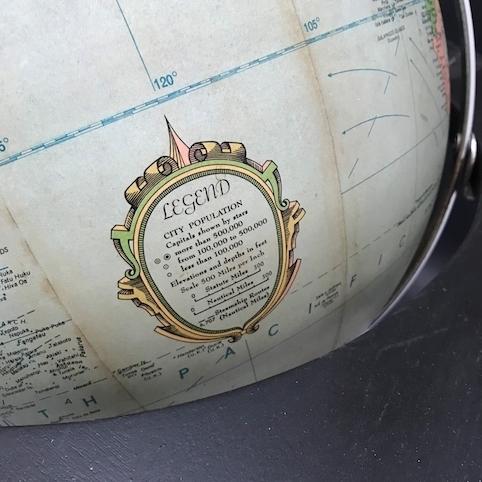 Picture of Replogle globe lamp n° 9