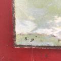 Immagine di Litografia su metallo. Veliero e molo