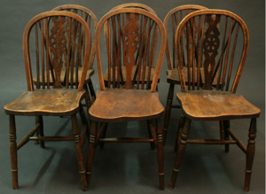 Picture of Windsor chairs