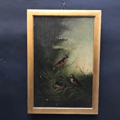 Picture of Unknown artist's Oil painting. Birds