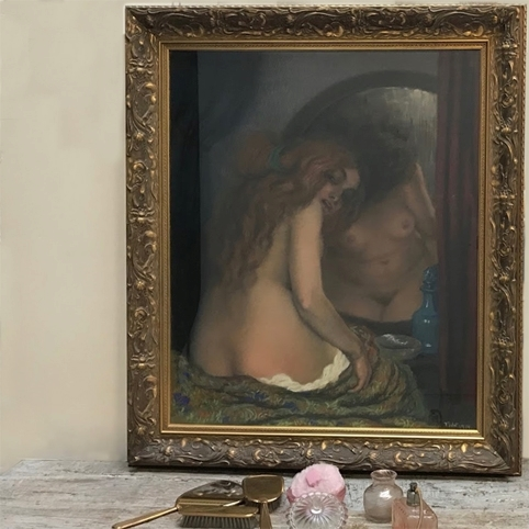 Picture of Painting by Jaroslaw Bild. Vanitas