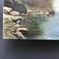 Immagine di Dipinto di H.D. Lago in montagna