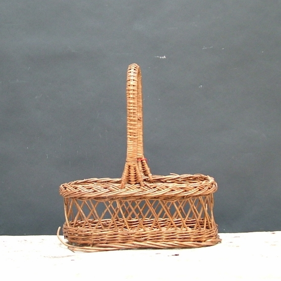 Picture of Basket n° 35 bottle carrier with handle