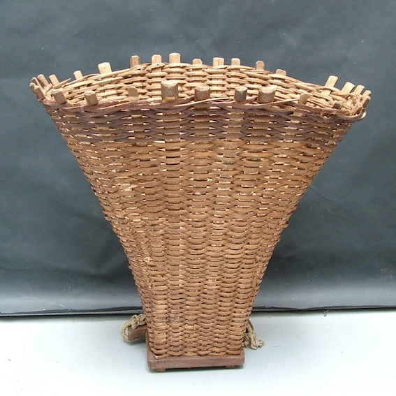 Picture of Wicker pannier basket n° 1