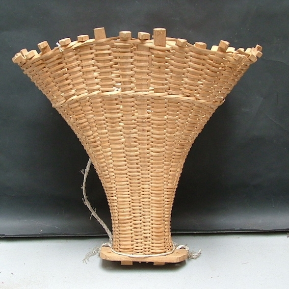 Picture of Wicker pannier basket n° 3