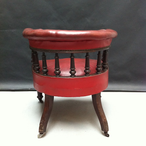 Picture of Victorian tub chair