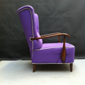 Picture of 50s' violet armchair