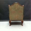 Picture of Louis XV's armchair with pouf
