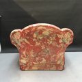Picture of coral armchair to restore
