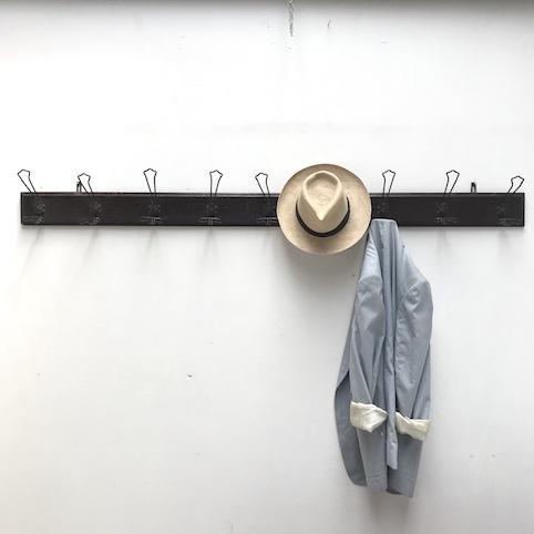 Immagine di appendiabiti da parete 9 posti