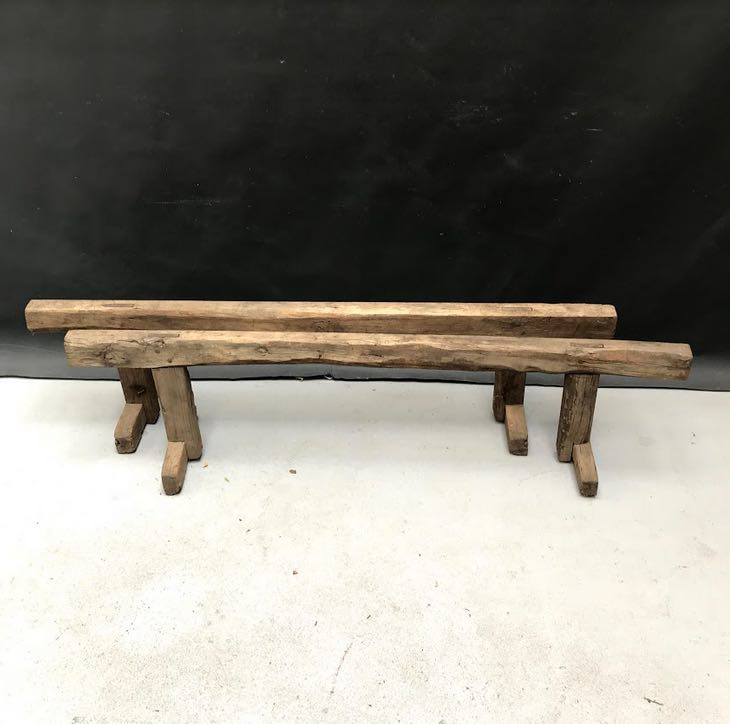 Picture of Antique  wooden sawhorses