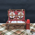 Picture of Wicker picnic case by Coracle