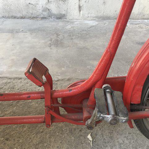 Immagine di Carretto dei gelati con bicicletta