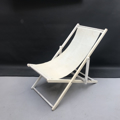Picture of White deckchair