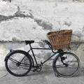 Immagine di bicicletta da panettiere con cesto