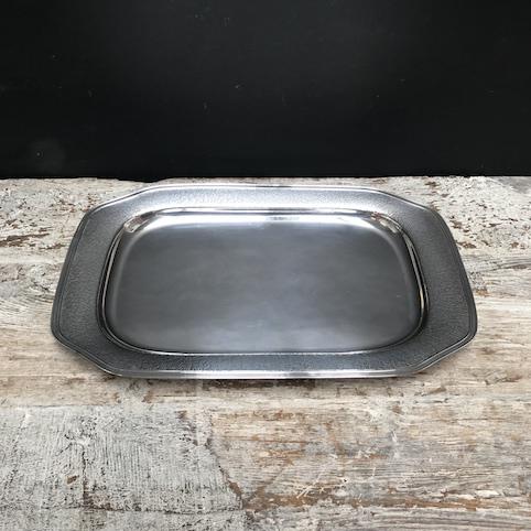 Immagine di Vassoio Art Decò metallo argentato