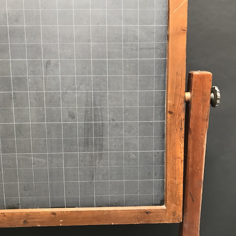Picture of Floor Blackboard Ruled e Graph