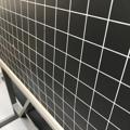 Immagine di Lavagna da terra in metallo a quadretti