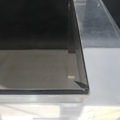 Picture of Lucite and glass coffee table