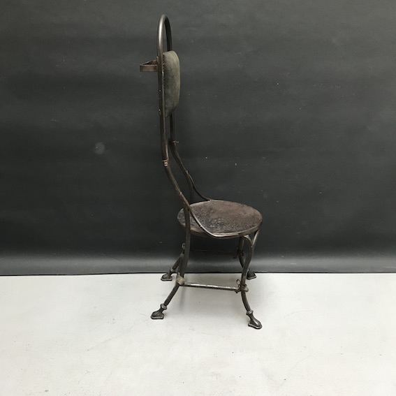 Picture of iron chair